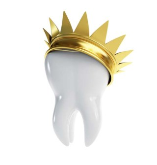 tooth with a crown