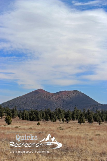 view of Sunset Crater Naional Monument