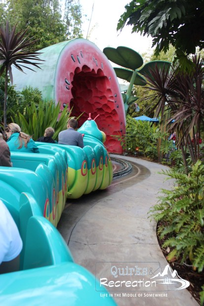 Heimlich's Chew Chew Train ride California Adventure
