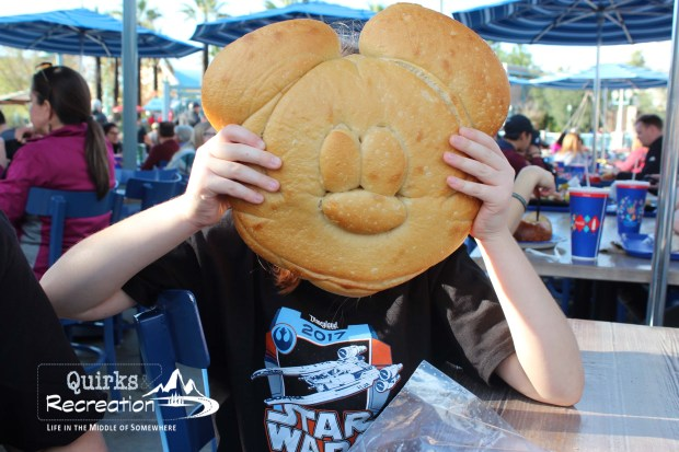 Mickey sourdough bread