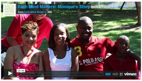 Each Mind Matters: Monique's Story