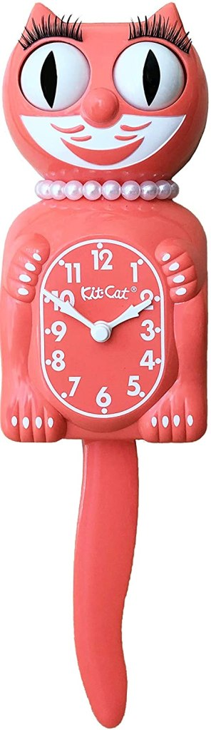 quirky cat product clock