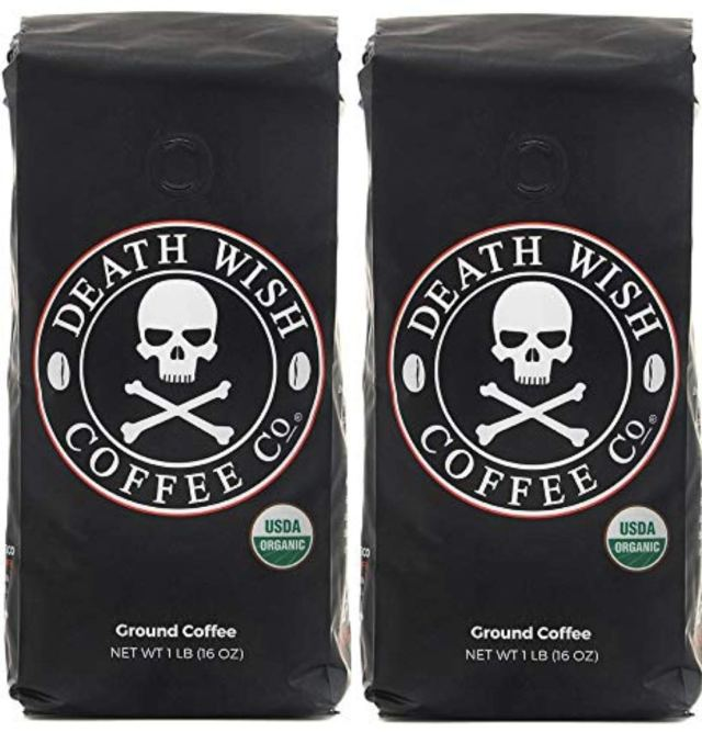 review of Death Wish packaging x 2