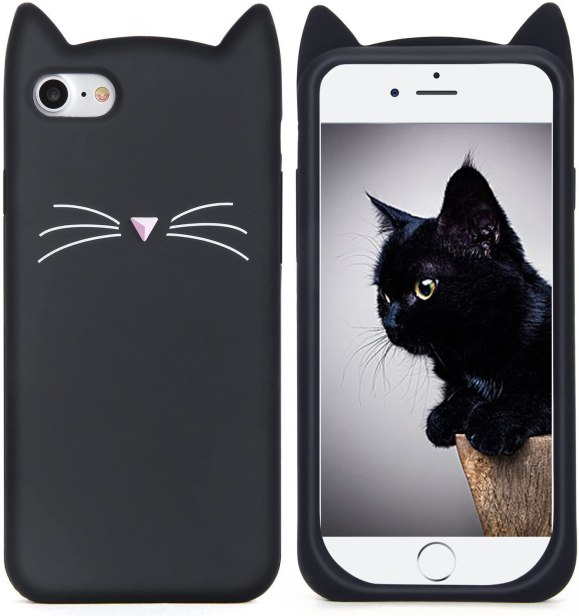cat themed cellphone case cat gift