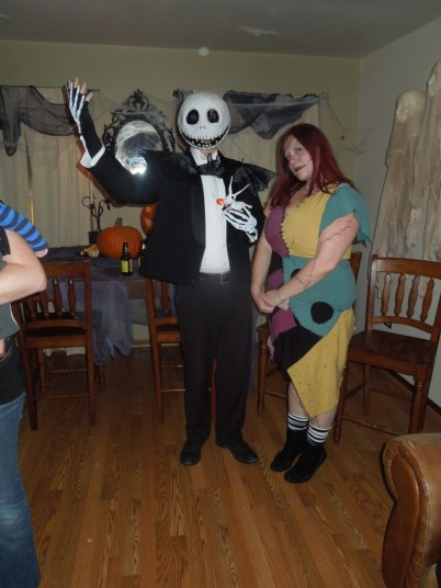 Nightmare Before Christmas Sally Costume Quirky Chrissy