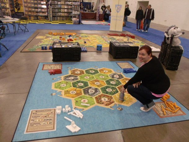 Giant Settlers of Catan