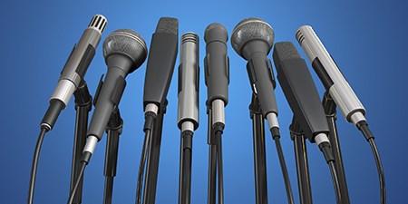 assorted microphones
