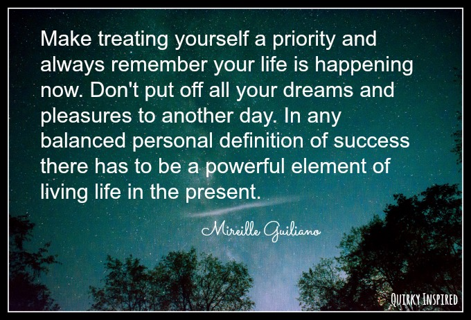 make yourself a priority