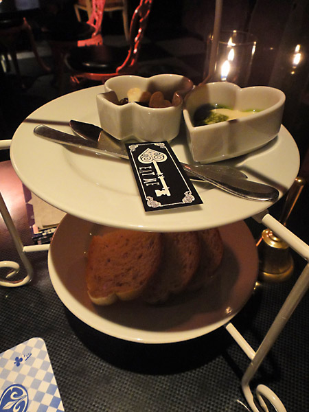 Bread at Alice in a Labyrinth
