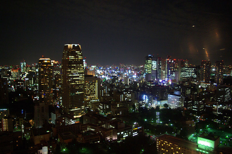 A view from the Tokyo Tower in Japan - part 2 of my A View From The Top series.