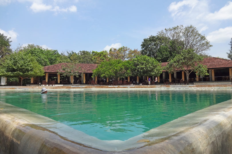 Swimming pool at Chaaya Village Habarana, Sri Lanka