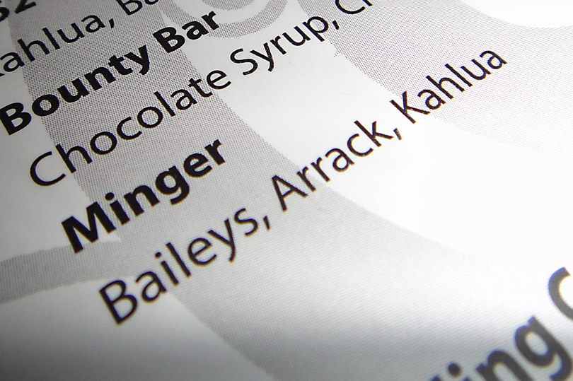Minger cocktail