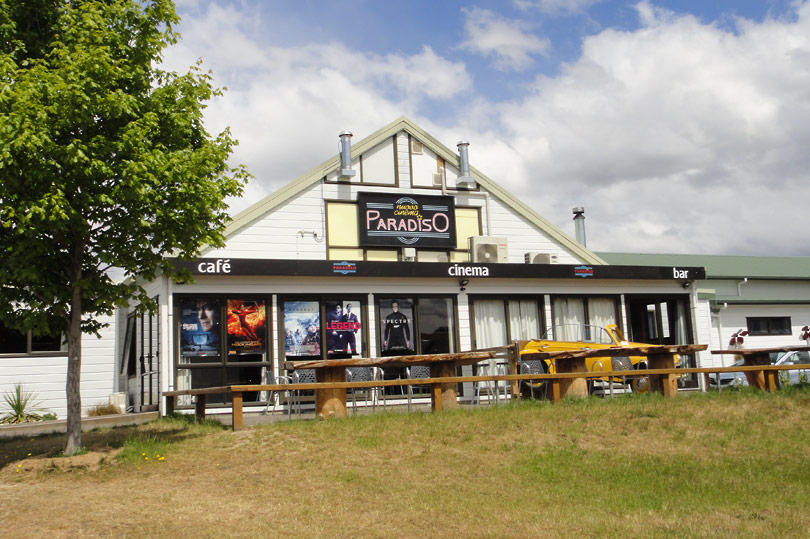 Cinema Paradiso in Wanaka New Zealand - the coolest and quirkiest cinema i've ever been to!