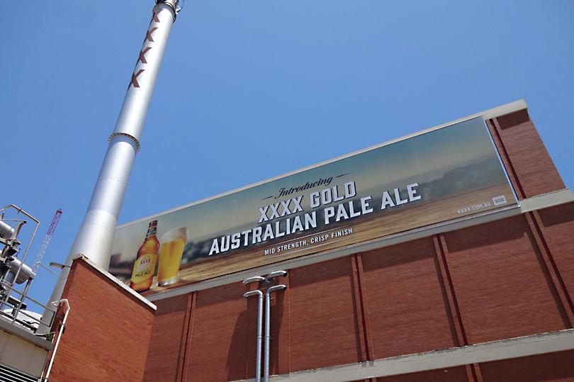 XXXX Brewery in Brisbane Australia
