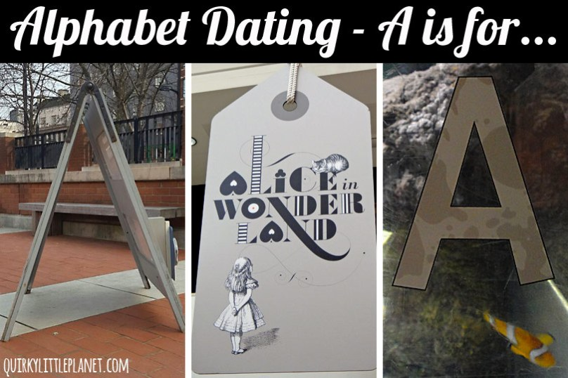 Alphabet Dating - ideas for the letter 'A'