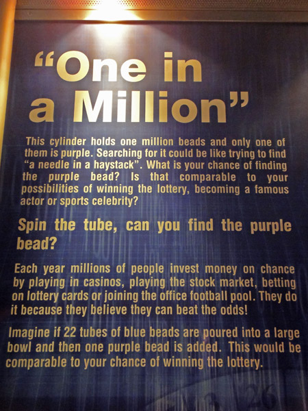 Find the one in a million at WonderWorks Orlando