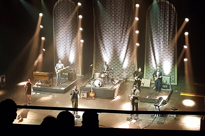 Soul singer Leon Bridges performing at The o2 Academy in Brixton