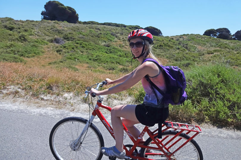 The best way to get around Rottnest Island! Hire a bike and explore this beautiful part of Western Australia.
