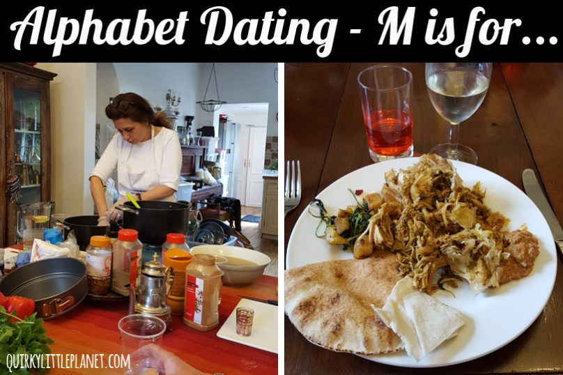 Moroccan and Lebanese Cooking Class - Alphabet Dating Idea