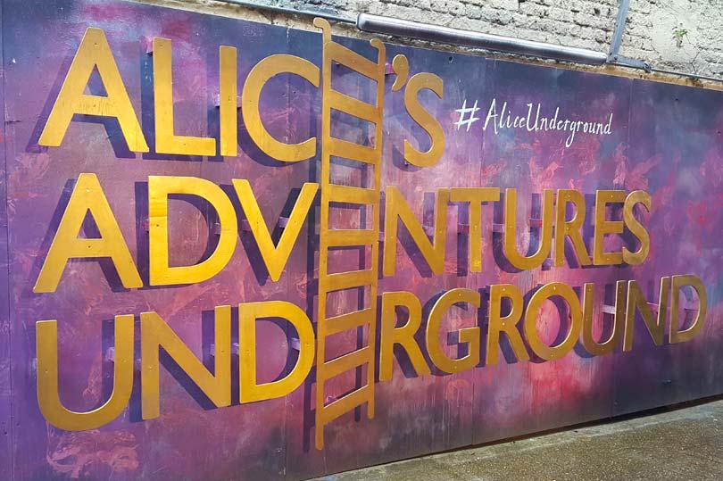 Alice Underground London