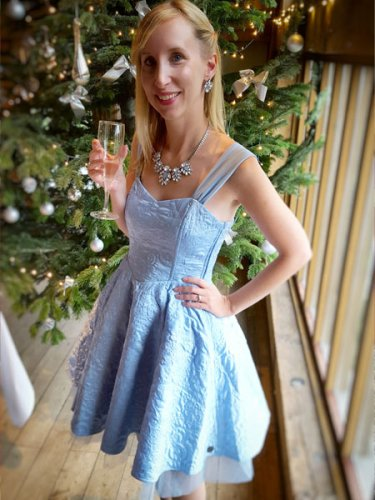 Cinderella dress from Hot Topic