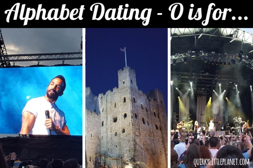alphabet dating o is for outdoor concert