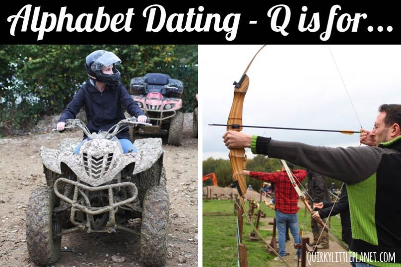 Alphabet dating Q is for quad biking