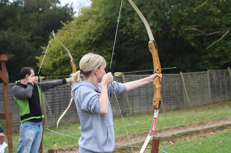 Archery at Southern Pursuits - just a short drive from Gatwick airport