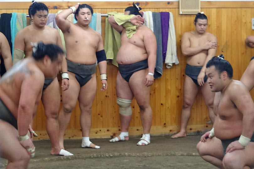 Sumo is the national sport of Japan