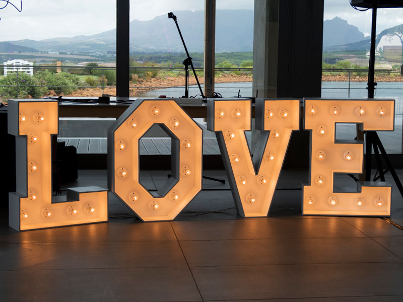 Marquee Love Lights Quirky Parties
