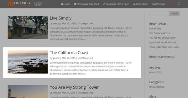 Modify The Divi Blog Fullwidth Layout