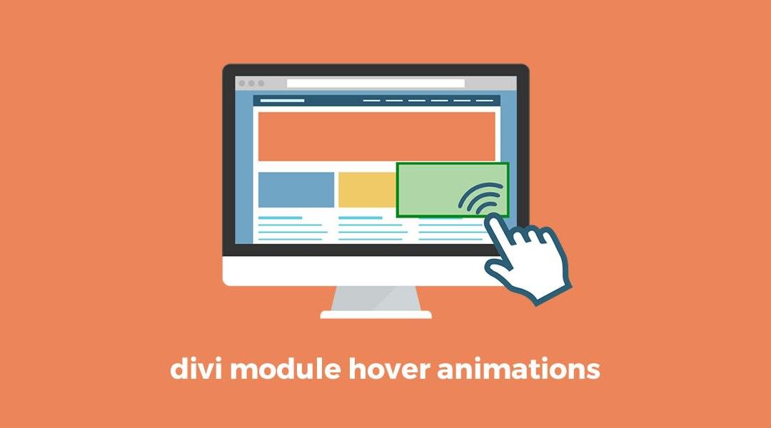 Divi module hover animations - Divi map module ...