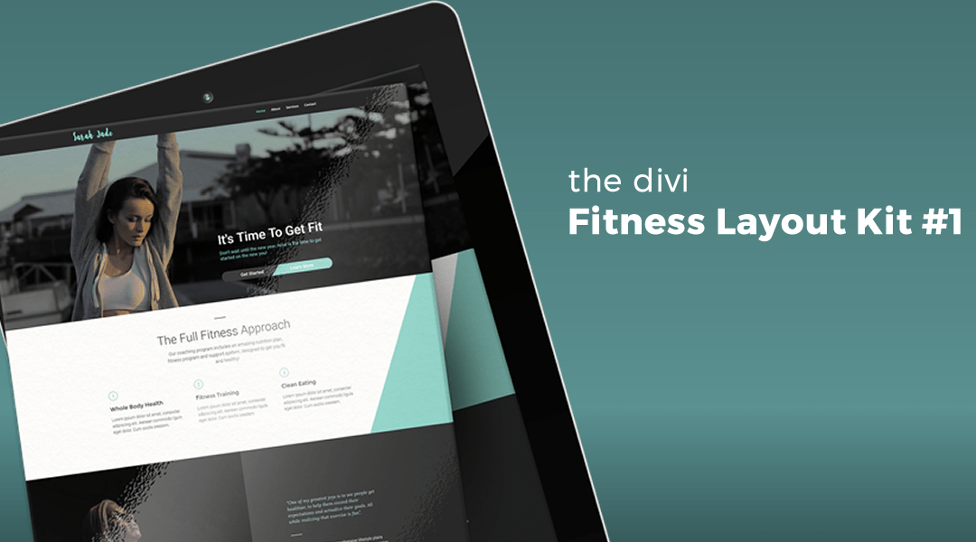 Fitness Layout Kit #1 for Divi