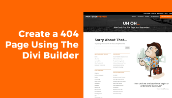 Replace the Default Footer with a Divi Builder Footer Saved