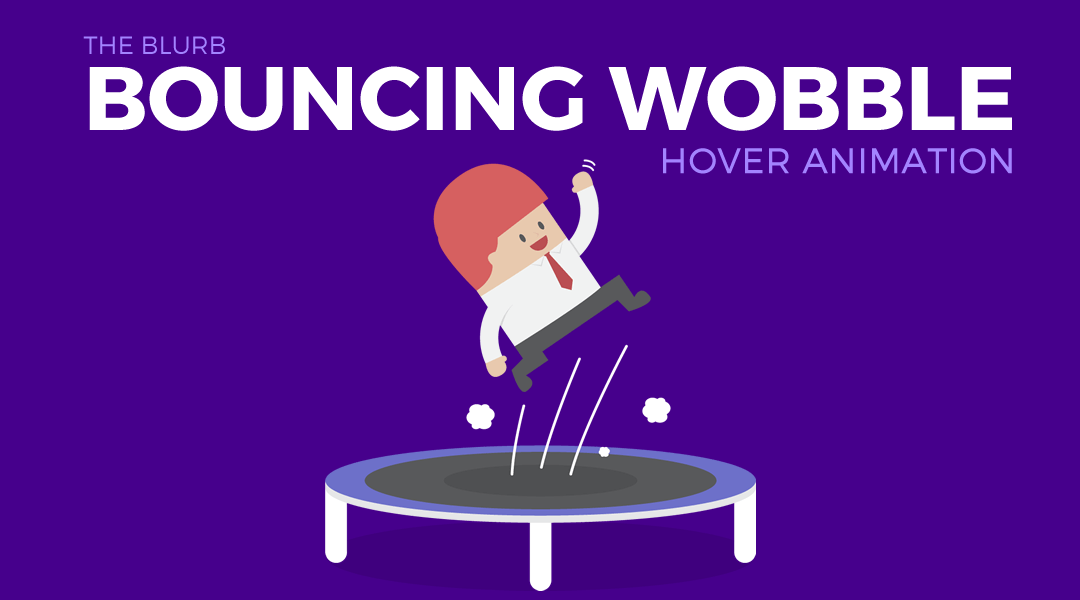 Divi Blurb Module Bouncing Wobble on Hover
