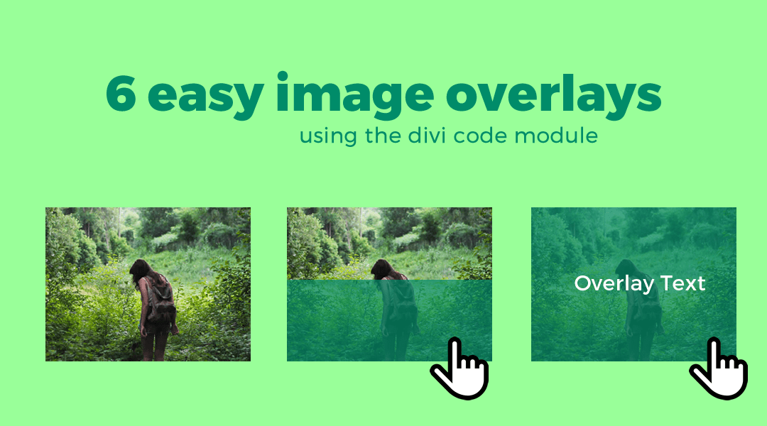 Easy Image Overlays Using The Divi Code Module