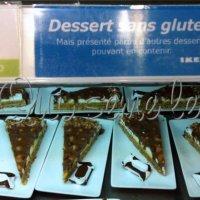 Ikea sans gluten (enfin juste un dessert : Almondy gluten free !)