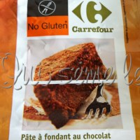 Gâteau au chocolat sans gluten #3 Carrefour No Gluten