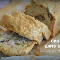 Cake salé sans gluten (au Cuisine Companion)