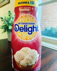 International Delight Cold Stone Creamery Sweet Cream Coffee Creamer