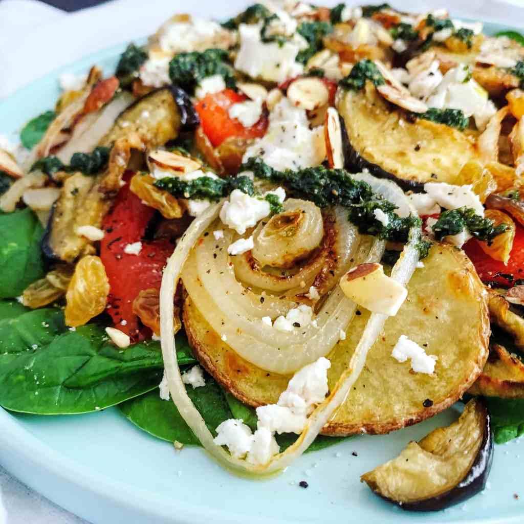 Warm Roasted Veg Salad_closeup