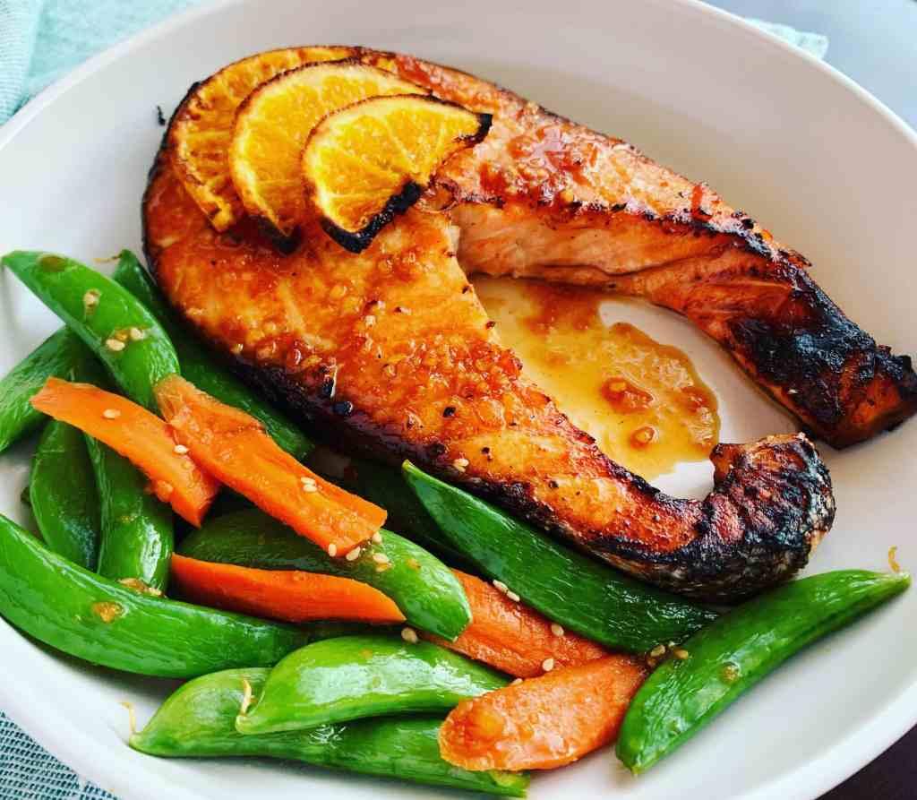Orange Ginger Salmon_sideview