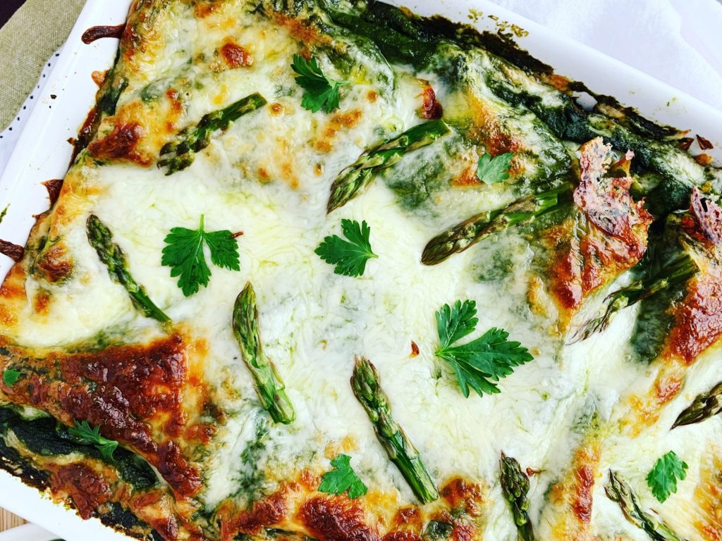 Mean Green Vegetable Lasagna_topview