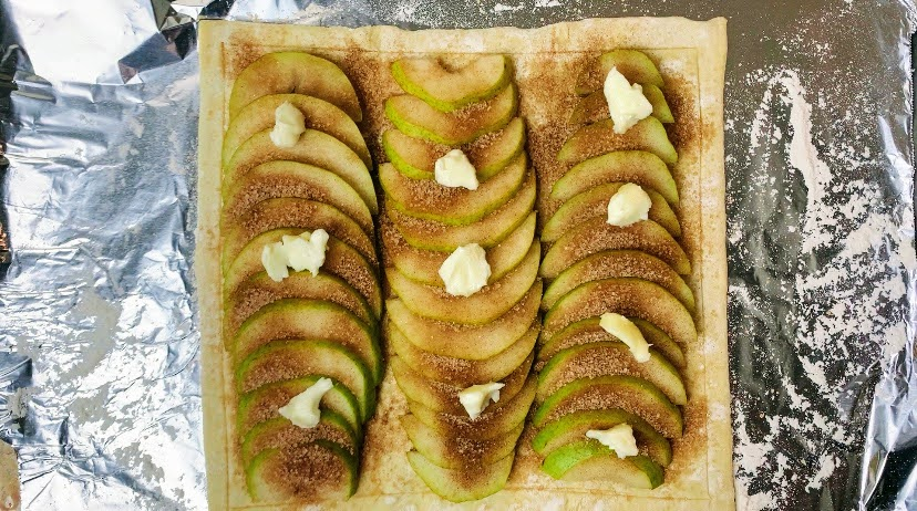 Pear Tart with Butter
