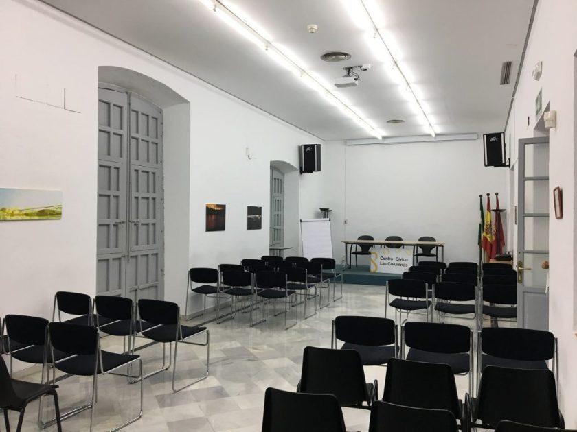 Jornadas Fotografía de Calle en Sevilla. MasterClass Fotografía de Calle día 6 de Octubre. Centro Cívico Casa de Las Columnas, Ayuntamiento de Sevilla.