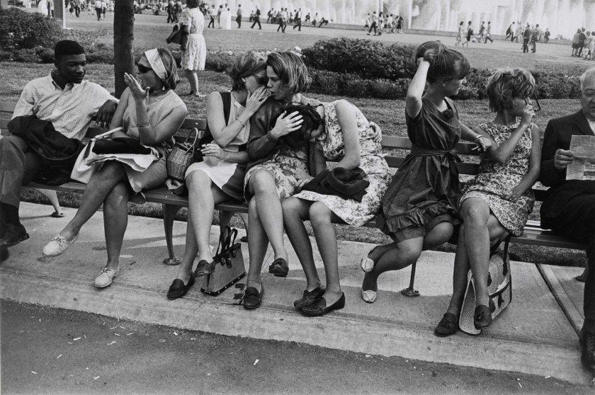 Fotografía © Garry Winogrand. New York, 1964