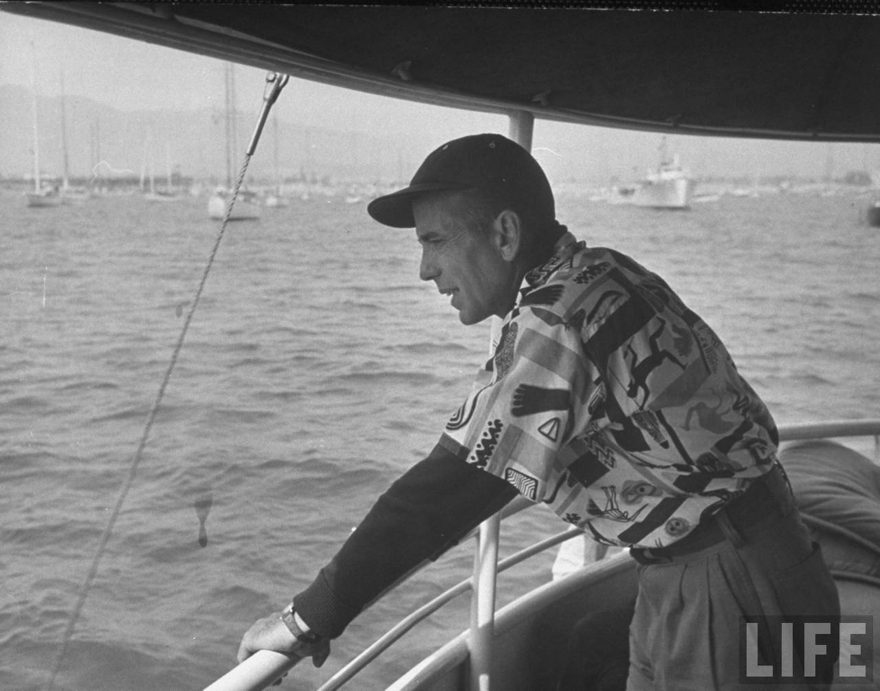 LIFE Archives Bogart Amp Boats Quite Continental