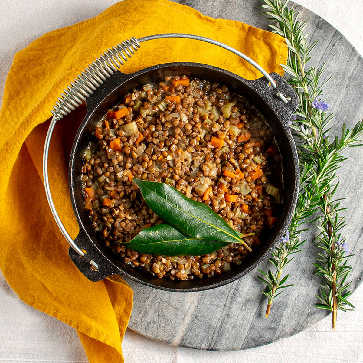 French Style Lentils Quite Good Food