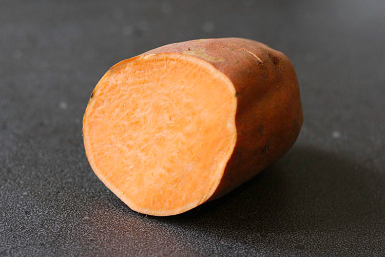 Orange kumara (sweet potato).