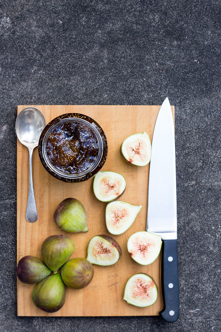 Fig, balsamic and vanilla jam - perfect with fresh scones and a pot of earl grey tea.